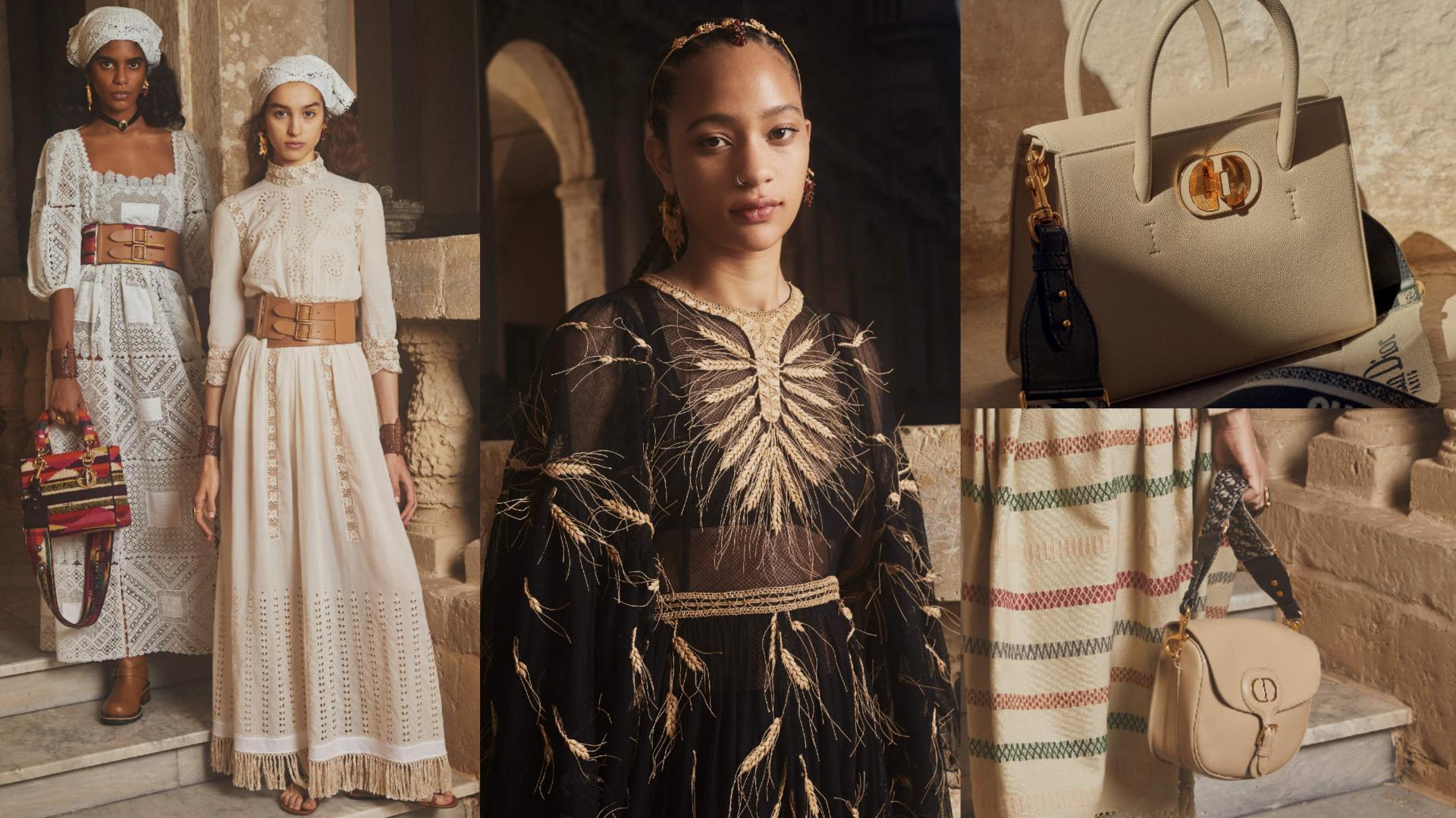 迪奥2021早春度假时装系列,全新包款St Honoré亮相