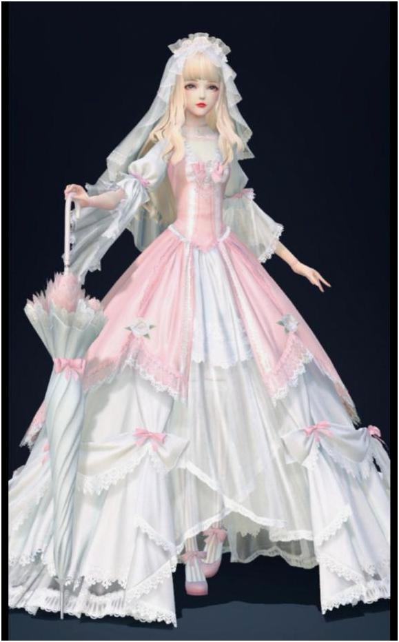 盘点云裳羽衣的婚纱套装,因爱之名最梦幻,圆了公主婚礼的梦 婚礼 时装搭配 婚纱 每日推荐  第7张