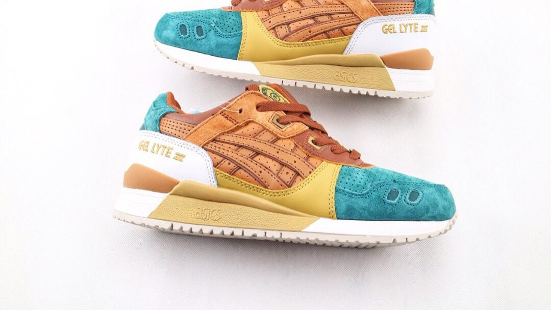 亚瑟士/ASICS Gel-Lyte III x  24 KILATES 复古联名跑鞋