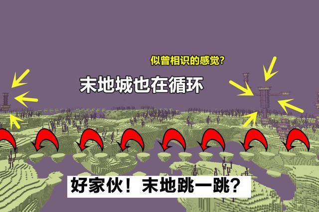 我的世界:him挖矿时留下的峡谷?说它是第一长,不过分吧?插图(6)