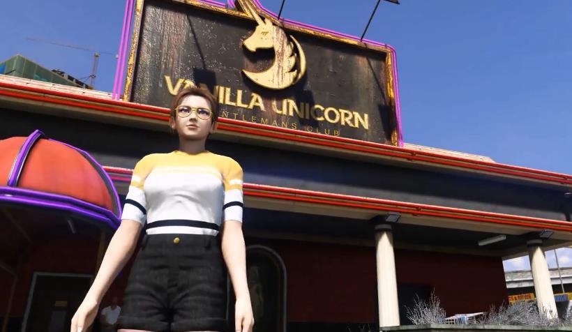 《GTA5》男玩家最喜欢去的地方,说没去过的都是萌新,真实!