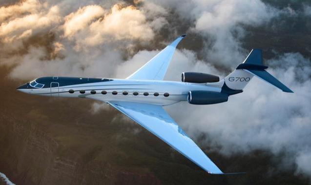 顶级豪奢:世界最大的私人飞机——湾流 G700