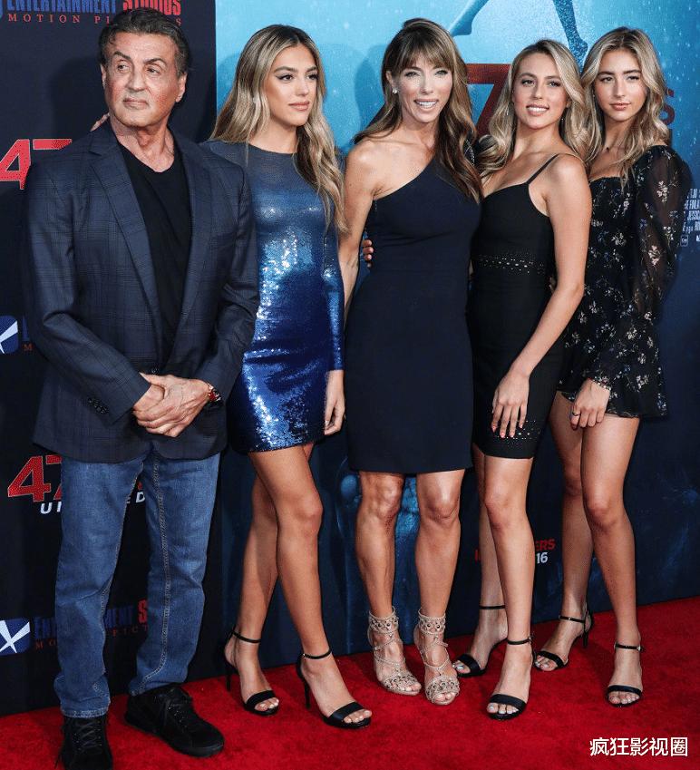 75岁史泰龙人生赢家,豪掷8亿买超级豪宅,三个女儿成好莱坞新宠