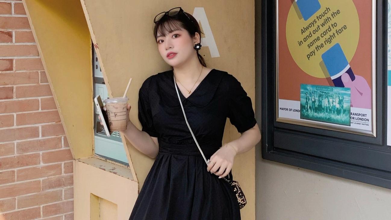 天气炎热,微胖女孩如何穿出自信?这份穿搭技巧请收好