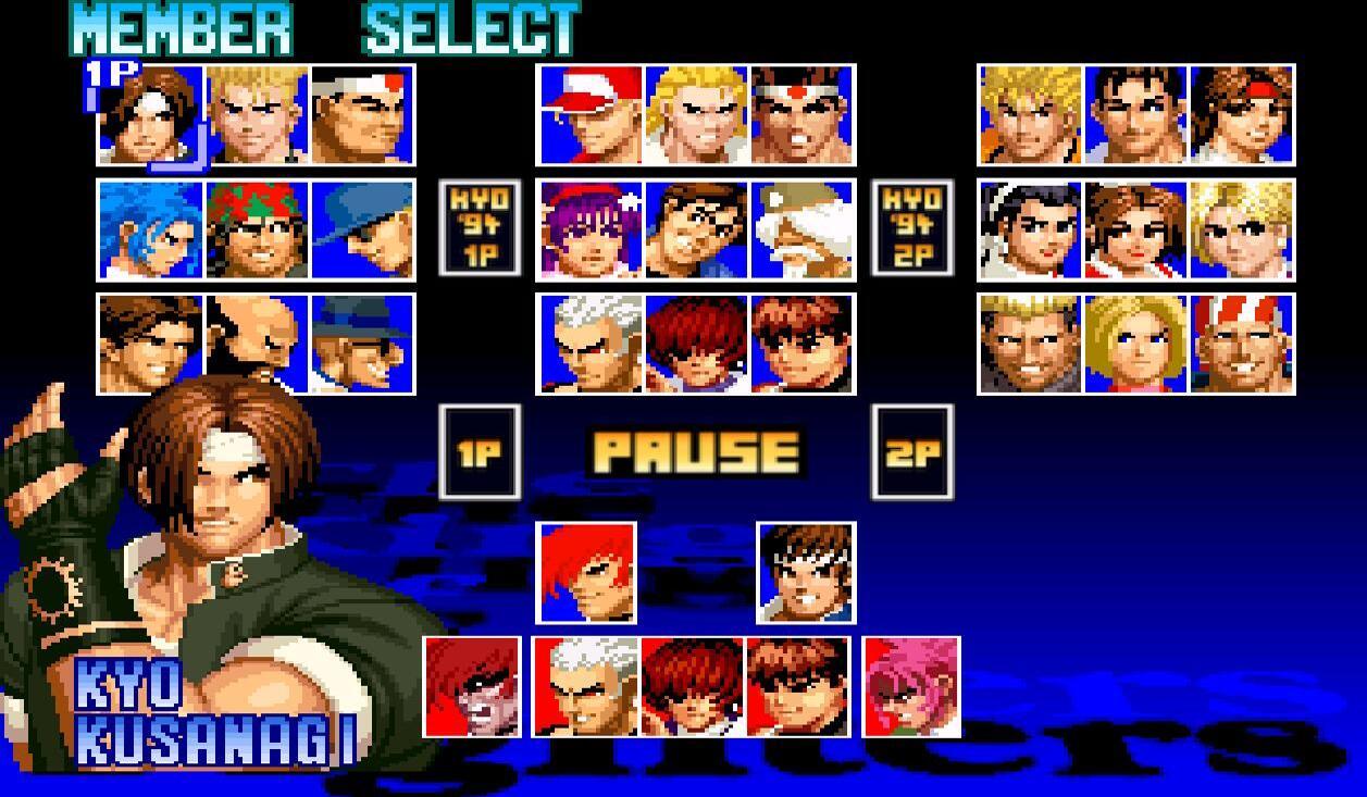 拳皇97:公认的最强5人,草薙没上榜八神被高估,她实战无人能破