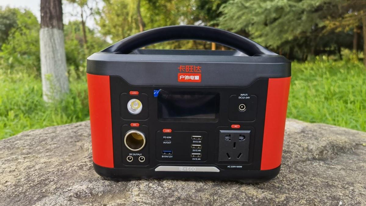 卡旺达户外电源评测:支持220V,比小型发电机还要香