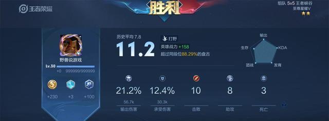 《【煜星app登录】王者荣耀:排位上分好英雄,专门针对物理英雄,上榜只需要千分?》