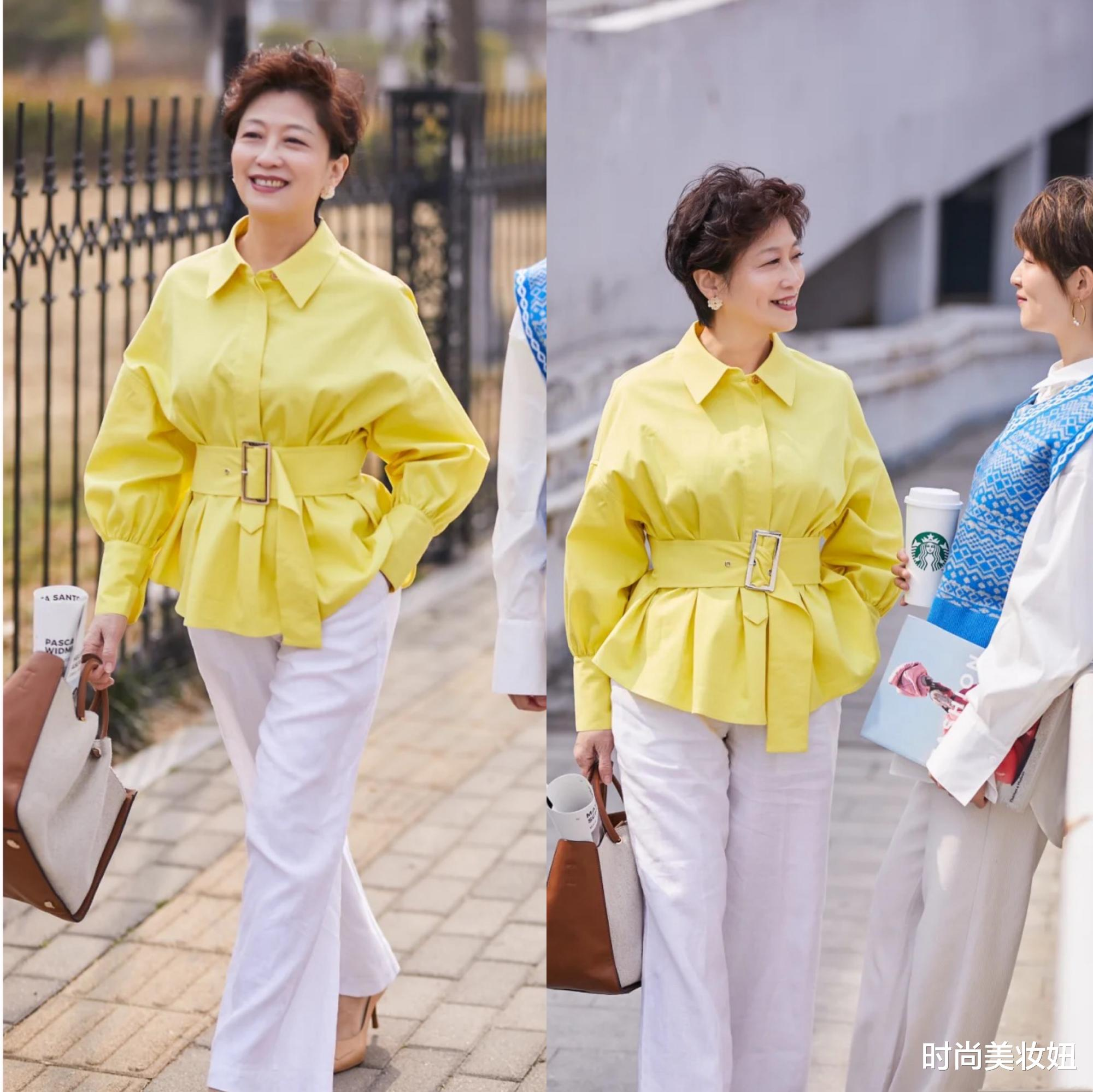 这才是60岁该有的高级穿搭,时髦洋气又减龄,照穿气质翻倍_娱乐新闻图片