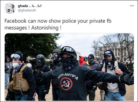 Facebook已经通过监控用户聊天记录掌握了部分冲击国会参 数码科技 第3张