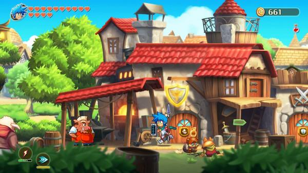 《【煜星代理注册】《怪物男孩与诅咒王国》:变形玩法和装备组合丰富了玩家的体验》