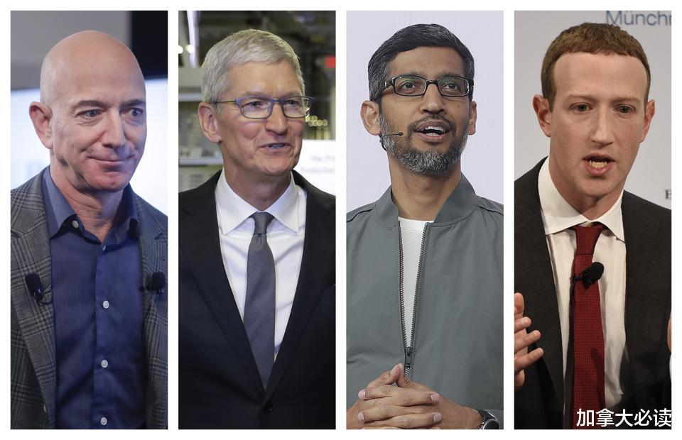 亚马逊、Facebook、谷歌和其他科技巨头去年花了6500 数码科技 第1张
