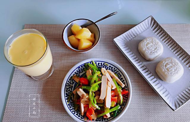 7天不重样早餐,少油少盐低脂营养全,搭配值得参考,跟着做省事