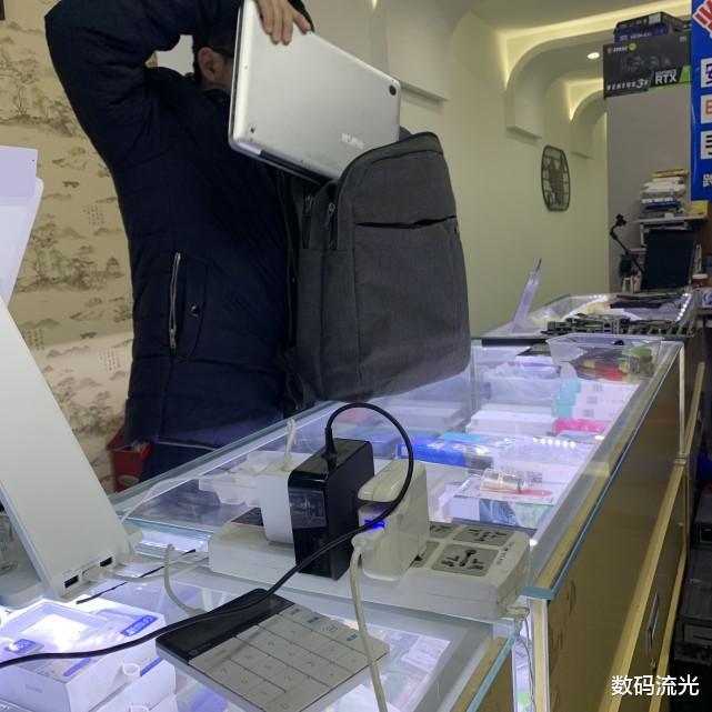 进水电脑的紧急三步处理了,大家可千万不要像这位客户一样再把电 数码科技 第4张