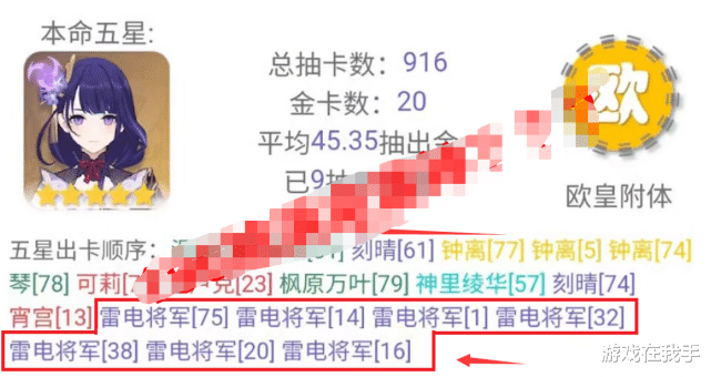 """《【煜星平台怎么注册】原神:200就能抽到满命雷神?能吹三年,策划却在""""偷笑""""!》"""