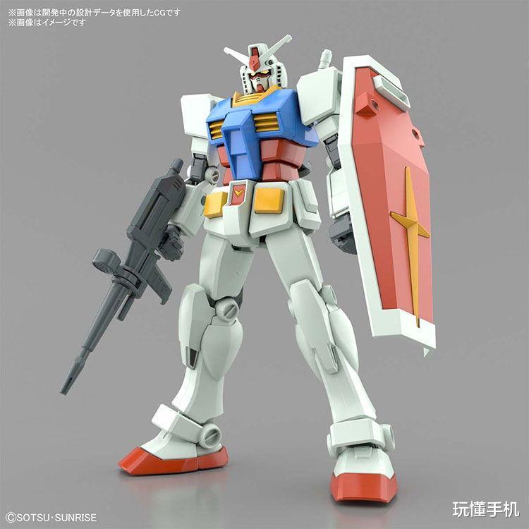 《【煜星登陆注册】万代Bandai推出EG系列高达「白色恶魔」RX-78-2 全武器套装版》