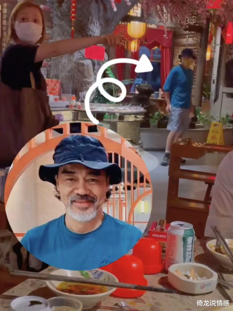 57岁刘青云近况,大胡子斑白不敢认,网友:老牌喷鼻港明星都老了