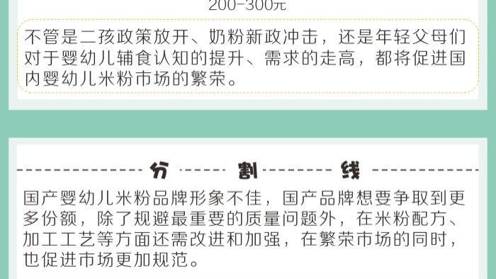 """一张图看 中国的婴幼儿""""口粮""""除了奶粉还能是个啥!"""