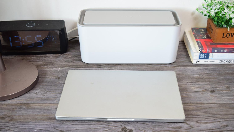 告别凌乱线束,让桌面秒变整洁:奥睿科一体式收纳盒排插评测