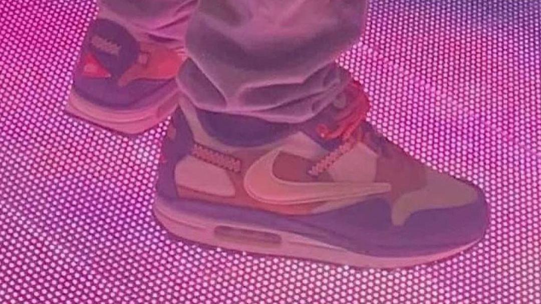 Travis Scott x Nike「联名倒钩」Air Max 1 高清美图正式曝光!