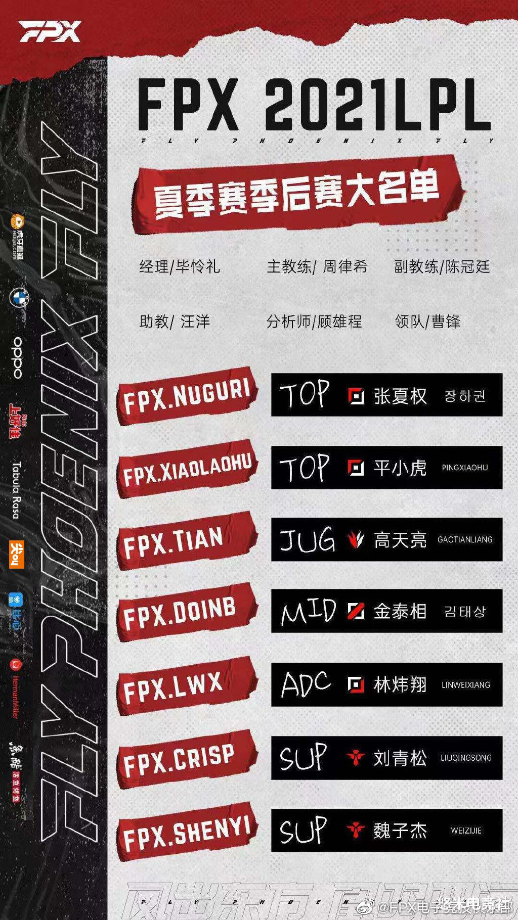 《【天游代理平台】LPL季后赛分析:SN必会从首轮开启征程,FPX基本确定自带复活甲》