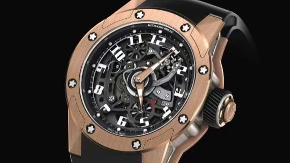【亿万富翁的玩具】理查德米勒RM 63-01 DIZZY HANDS腕表