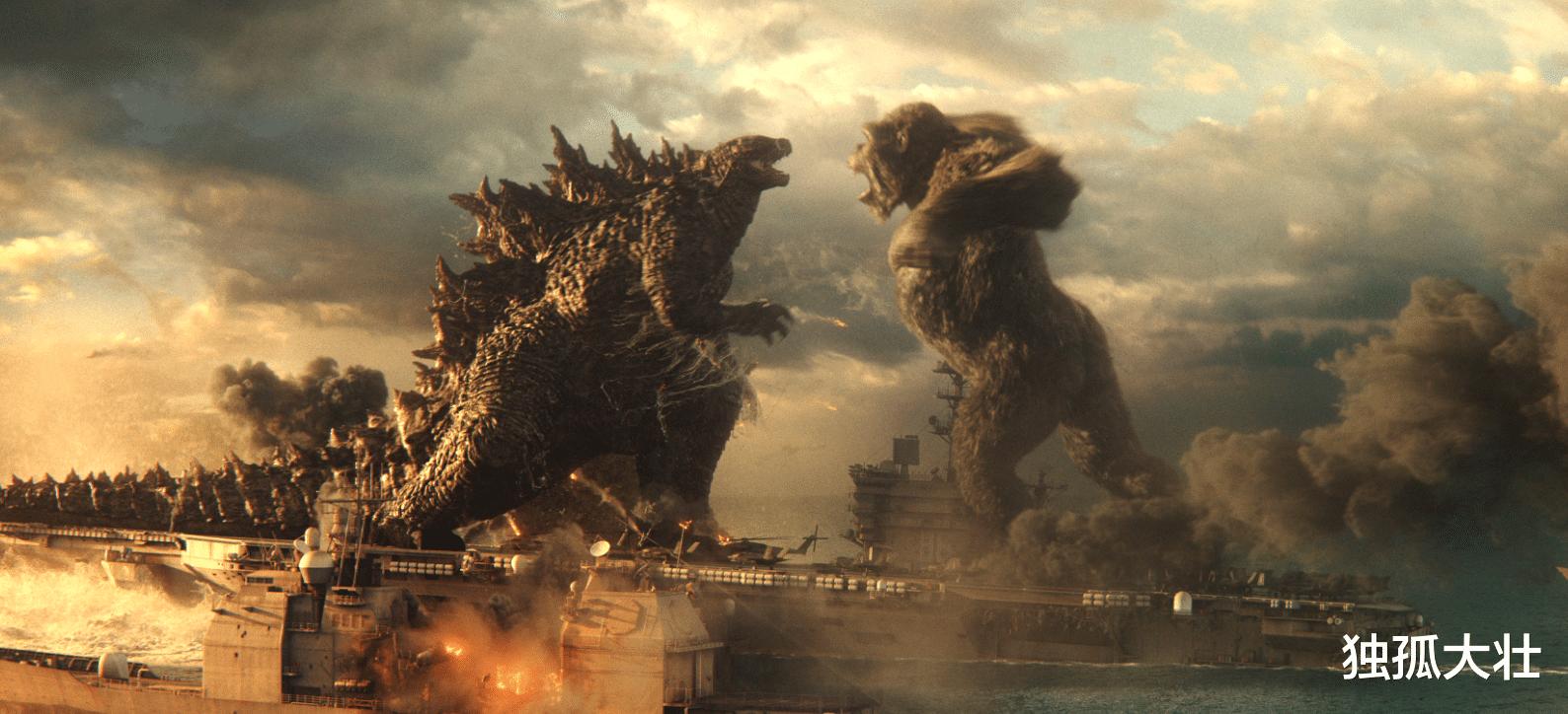 《哥斯拉大战金刚》怪兽之王哥斯拉为何最后放过了金刚?