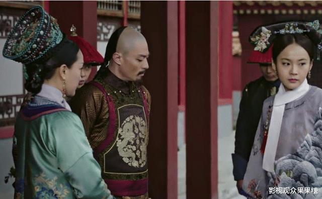《如懿传》中的颖妃才是宫斗高手,一句话让魏嬿婉从令妃变成答应