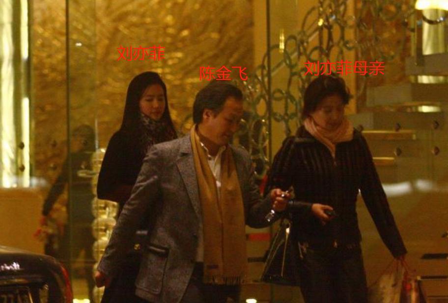 """明星娱乐新闻八卦_刘亦菲寄父陈金飞:宠了半辈子""""干女儿"""",为啥最后却娶了""""冯女郎""""?"""