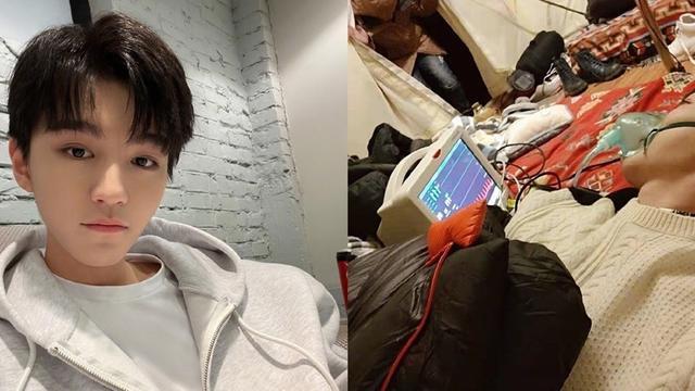 王俊凯录综艺出现高原反应呼吸困难不忘自拍被质疑造假