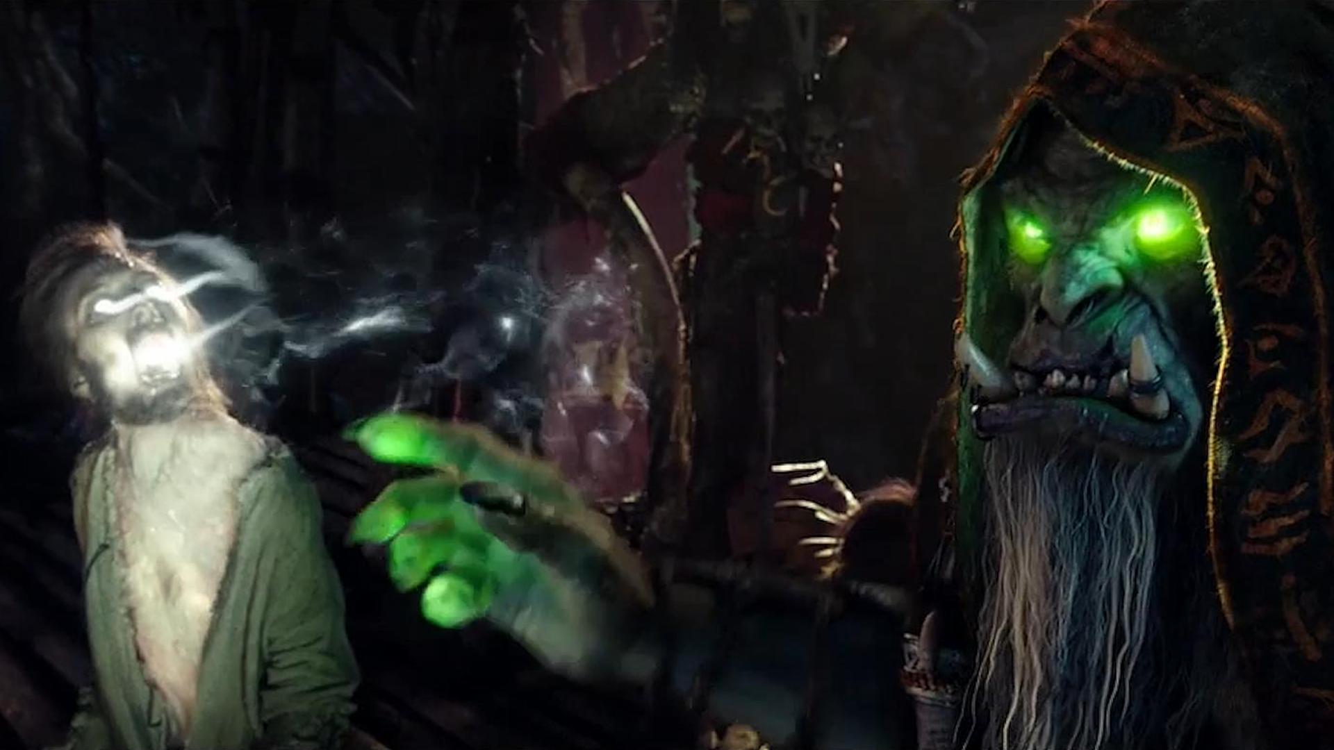 《【煜星娱乐注册官网】解说《魔兽》:兽人入侵,吴彦祖破相扮古尔丹,最喜欢玩吸星大法》