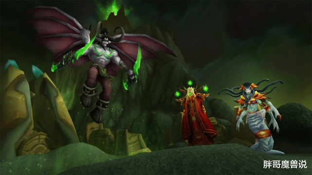 魔兽世界:剧情中的玛瑟里顿,曾经的外域之王,为何龟缩在城墙下面?