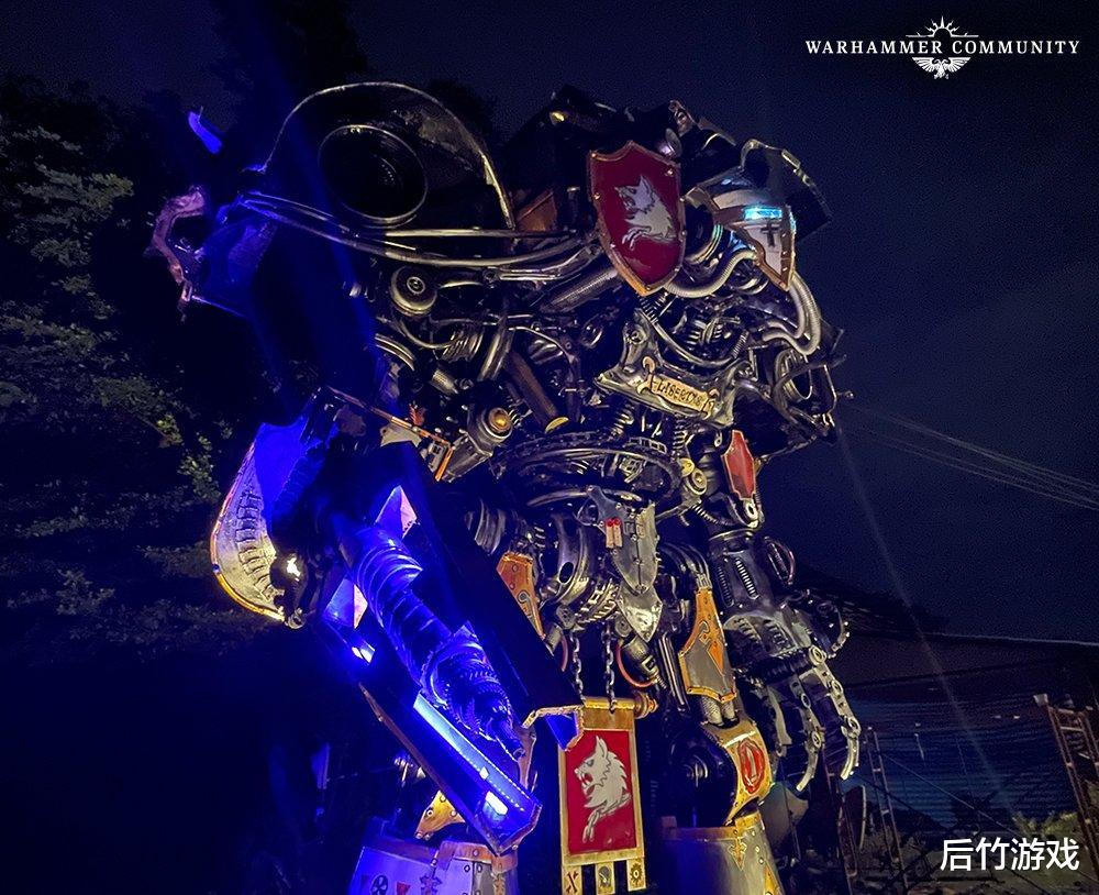 《【煜星平台怎么注册】玩家用一些废旧材料造出了《战锤40K》里虎虎生威的机器人》