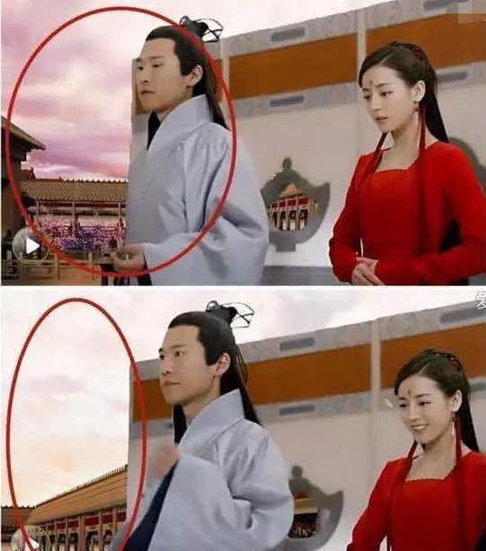 最尬穿帮镜头:杨幂除了苹果还穿帮了什么,你能看出来么?