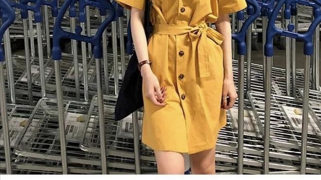 春季新潮减龄显瘦连衣裙