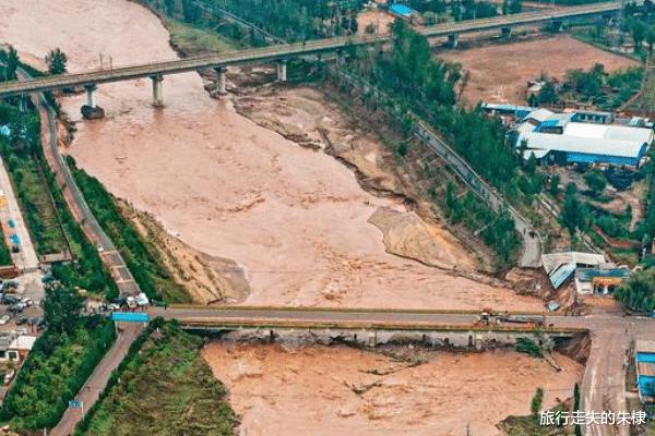 暴雨事后的山西,境内多处景点遭到破坏,修复难度超越设