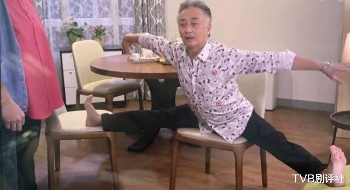 """61岁吴岱融凌空现一字马,新剧""""临老入花丛"""",曾出演大尺度剧集_新闻娱乐通"""
