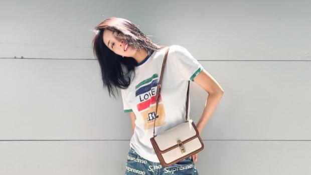 """王紫璇太厉害了,不穿裙子穿""""男款""""都那么好看,不愧是校园女神"""