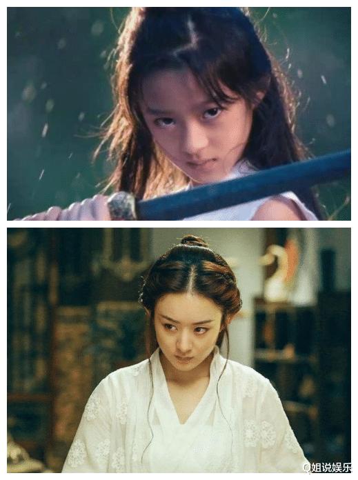 与热巴合作两次,从童年到幼女,黄杨钿甜将会成为下一个张子枫