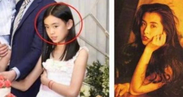 佟大为大女儿爆红,撞脸王祖贤,被网友称为最漂亮的星二代