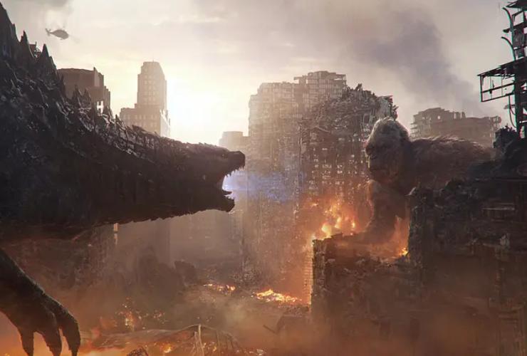 《哥斯拉大战金刚》首日票房破1亿,上座率超过11%,异常火爆