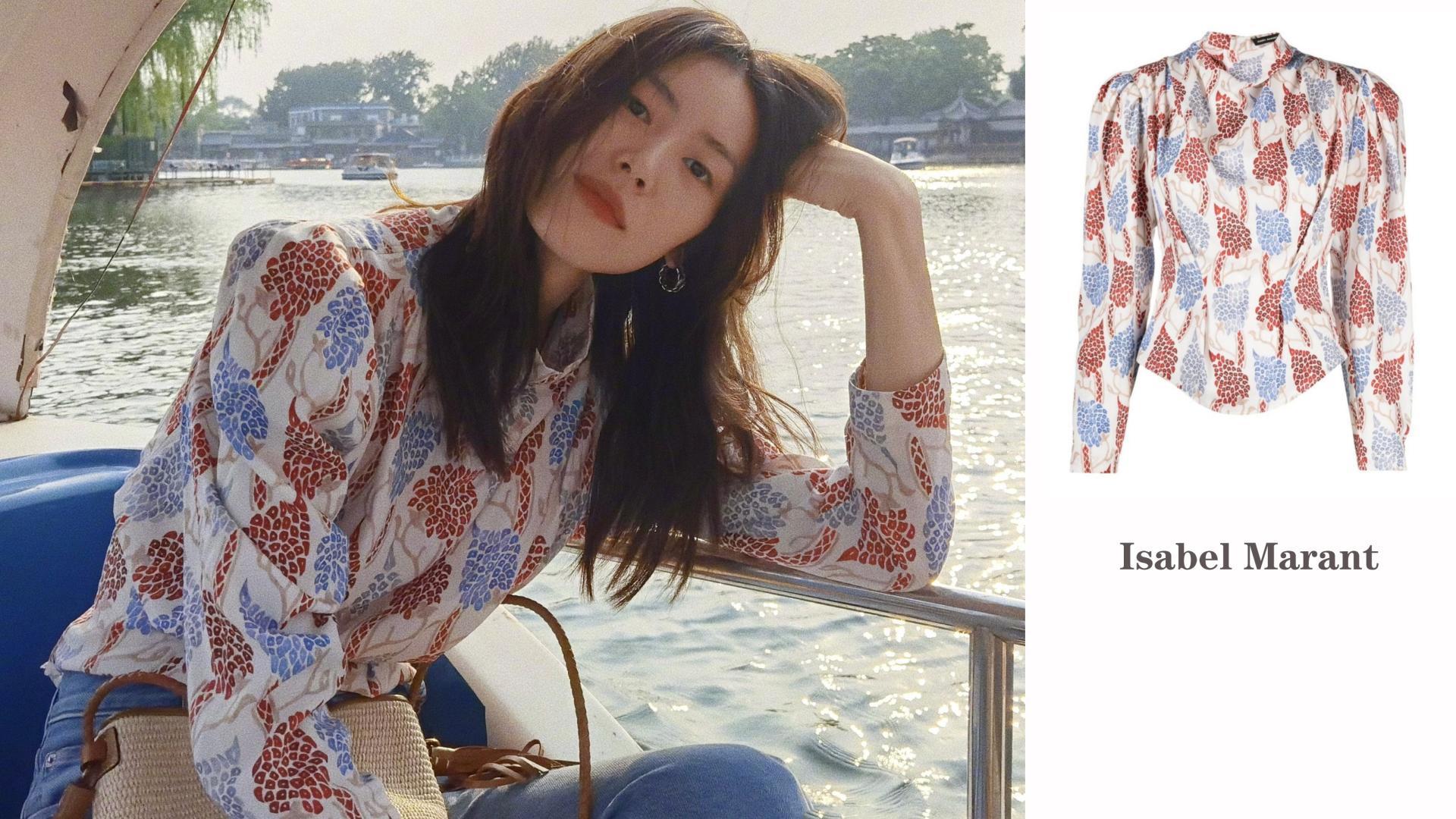秋季衬衫如何挑选+穿搭?刘雯8套衬衫私服,教你走路带风、潇洒优雅