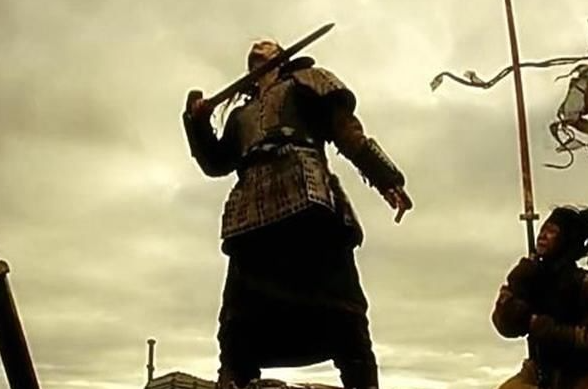 古代上将军杀敌如坎菜?