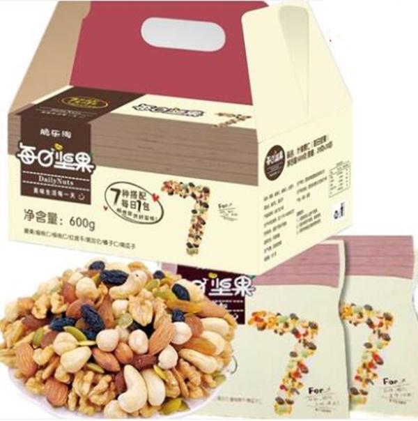 三只松鼠压力倍增,天猫零食店7包坚果卖6块,年底囤货物美价廉