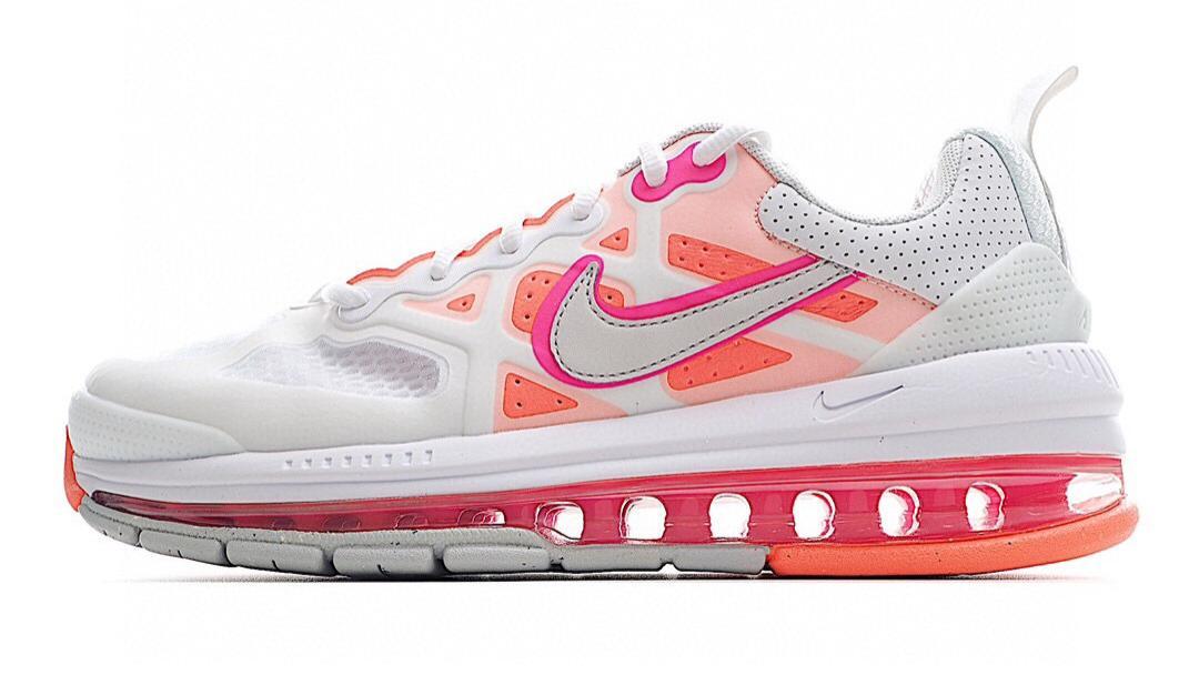 Nike Air Max Genome  珊瑚粉 全掌气垫跑鞋