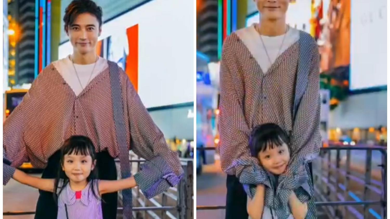 张丹峰越活越年轻,扎小辫穿蝙蝠衫太时髦,衣服确定不是老婆的?