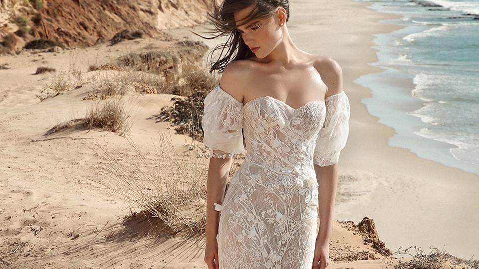 你踩碎了星光,它撒在了我的心上,变成了唯有你的幻想,Galia Lahav婚纱