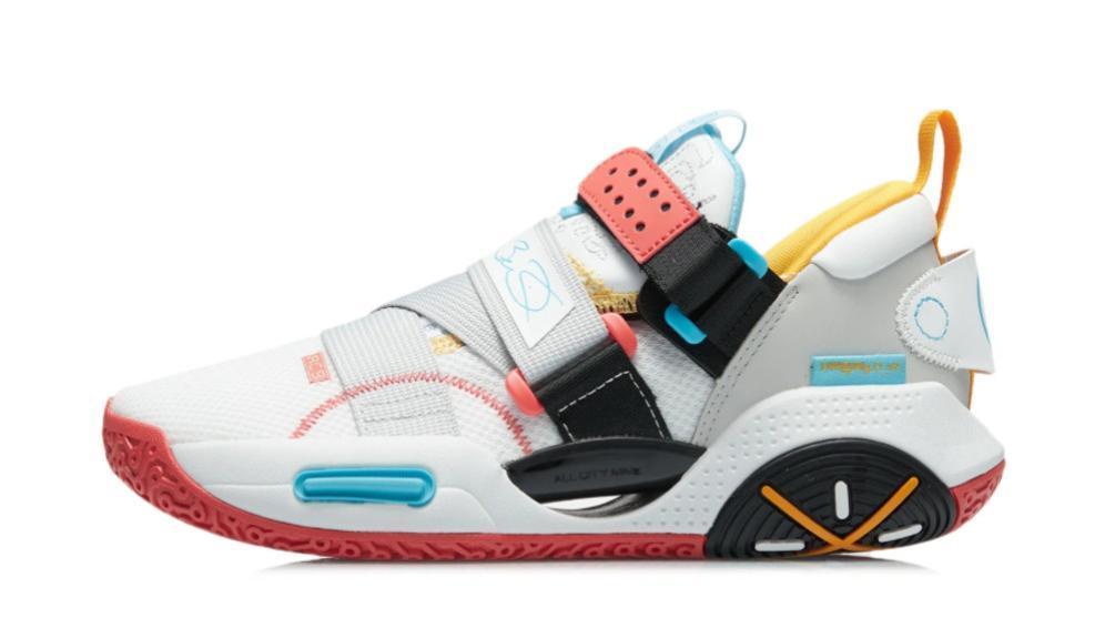 """全新李宁全城9 V2版本""""微晶灰""""配色发售!颜值相当不错的一双国产中端篮球鞋"""
