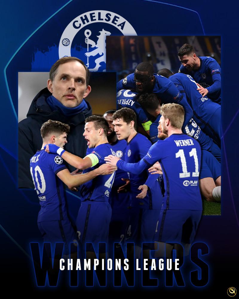 欧洲足球大结局:切尔西夺欧冠!黑马夺欧联!各国联赛冠军全记录