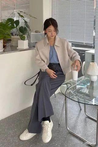"""今年春天""""奶奶裤""""最In混搭,照着穿时髦炸!"""