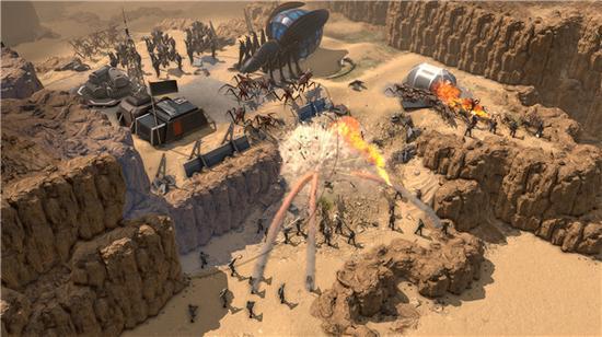 《【煜星娱乐平台注册】RTS新作《星河战队:人类指挥部》发布新预告片》